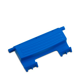 SP Connecting clamp+spring 1pc. blue 2.0