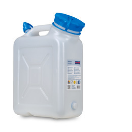 Wide necked canister 10 l
