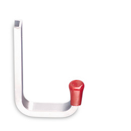 Aluminium wall hook size 2