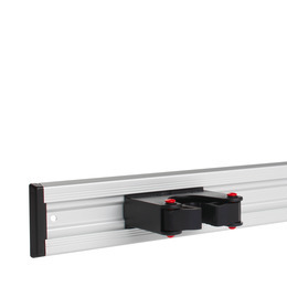 aluminium rail for universal holder